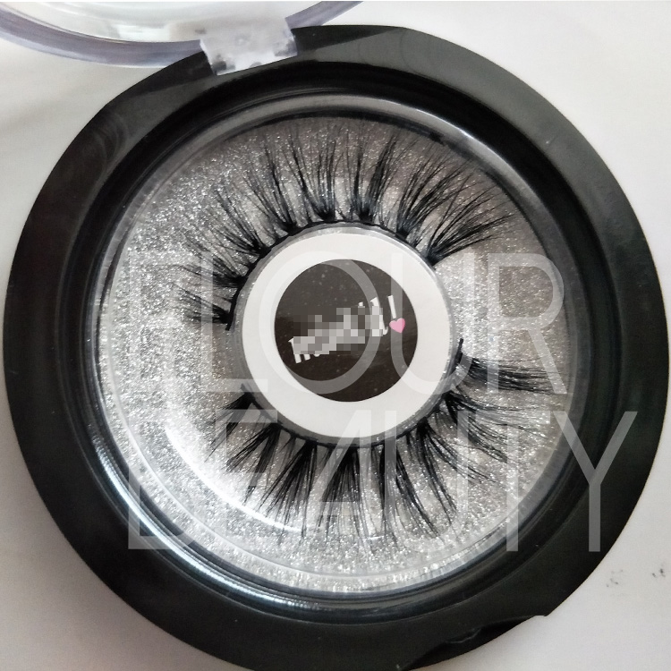 Private label 3D volume mink lashes manufacturer usa ED43